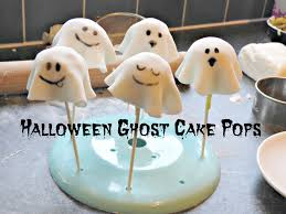 Halloween Ghost Cake Pops I Viccy Vlogs Youtube