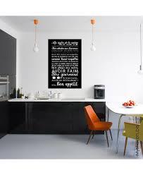 toile deco cuisine tableau deco toile tendue les regles de la cuisine
