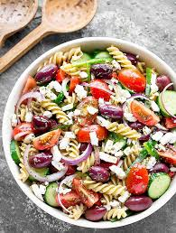 salad pasta easy greek pasta salad as easy as apple pie