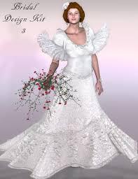 bridal design kit 3 3d models and 3d software by daz 3d