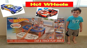step2 wheels table step2 wheels car and track play table toy review youtube