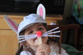 bunny ears and nose craft momeefriendsli