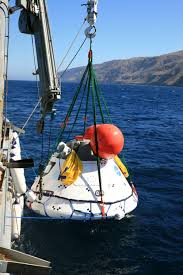 orion crew module recovered from pacific ocean after first flight