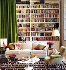 full wall shelving home decor