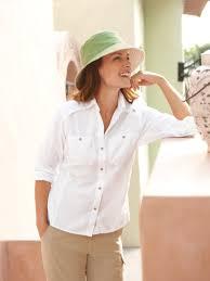 women u0027s safari shirt