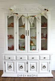 1980s Furniture Pure White 1980s Hutch Gypsy Magpiegypsy Magpie