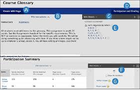 wikis blackboard help