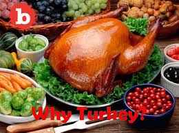 turkey is the dish for the thanksgiving day meal but why