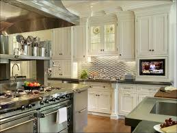 kitchen glass and metal backsplash tile stainless steel subway