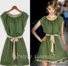 casual green dress good dresses