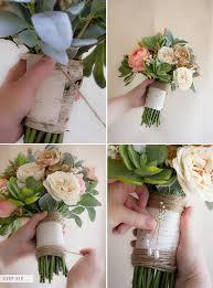 Faux Flowers How To Make A Faux Flower Bridal Bouquet Bridalpulse