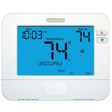vive tp s 855c digital programmable thermostats carrier hvac
