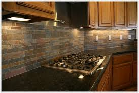 Stone Mosaic Tile Kitchen Backsplash by Slate Mosaic Tile Backsplash Zyouhoukan Net