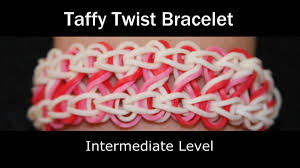 rainbow loom taffytwist bracelet youtube