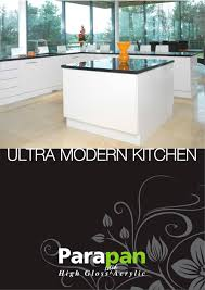 ultra modern kitchens ultra modern kitchen parapan pdf catalogues documentation