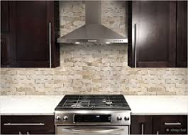 Brown Subway Tile Backsplash by Backsplash Ideas For Dark Cabinets Light Brown Glass Subway