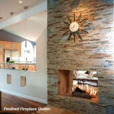 Firerock Masonry Fireplace Kits by Firerock Conventional See Through Fireplace 42