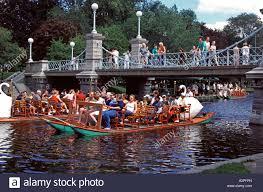 Massachusetts travelers stock images Swan boats boston public garden boston massachusetts new jpg