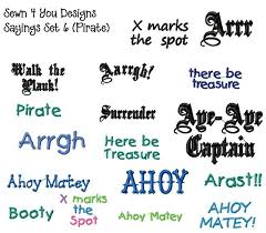 themed sayings pirate sayings search galore craft