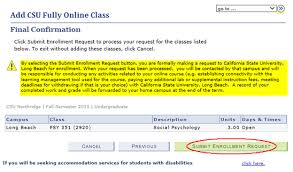 online confirmation class csu fully online courses california state northridge