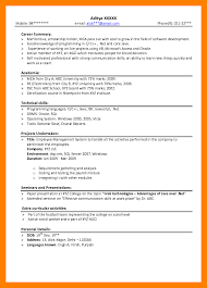 Sample Resume Headline For Freshers by Teachers Resume Doc Format For Freshers Resume Sample Dance