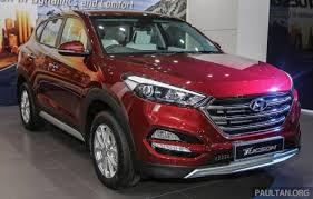 harga hyundai tucson malaysia 2016 hyundai tucson launched in malaysia 2 0l elegance and