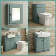 traditional bathroom furniture vanity unit basin toilet wc storage