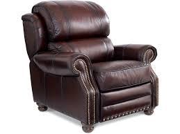 la z boy jamison traditional high leg leather recliner morris