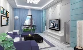 Gray Blue Curtains Designs Excellent Plain Design Blue Curtains Living Room Idea