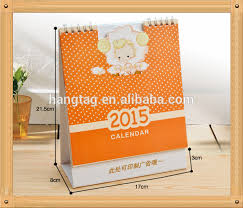 Desk Daily Calendar 2016 Print Triangle Desk Calendar Customized Cute Desk Calenda