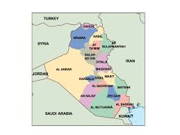 iraq map vector iraq powerpoint map order and iraq powerpoint map made