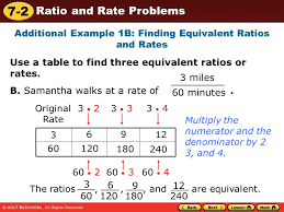 ratio tables worksheets with answers equivalent ratios and rates ora exacta co