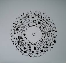 music note home decor aliexpress com buy musical notes wall vinyl decal creative