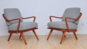 1950s Armchair Armchair By Walter Knoll Wilhelm Knoll 1950s Set Of 2 For Sale