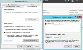 activer connexion bureau distance windows 7 windows server 2012 installation et configuration d un serveur rds