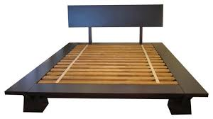 Platform Style Bed Frame Asian Style Bed Frame Takuma Platform Bed Asian Platform Beds