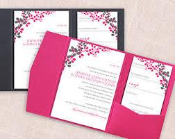 Pink Wedding Invitations Pink And Gray Wedding Invitations Template Best Template Collection