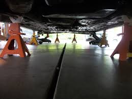 2013 nissan altima jack points i know lets both crawl under the car without using jack stands