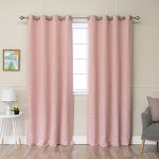 Blackout Curtains Grommet Aurora Home Star Struck Grommet Top 84 Inch Thermal Insulated