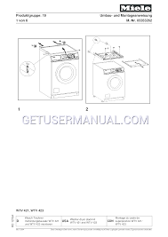 miele washer dryer wtv 423 user u0027s manual download free