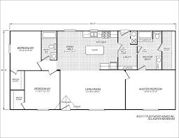 Public Bathroom Floor Plan by Eagle 28563s Fleetwood Homes