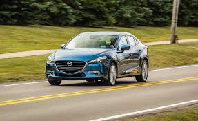 mazda sedan models 2017 mazda 3 2 5l automatic sedan tested review car and driver