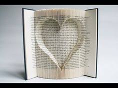 easy and beautiful diy projects made with old books book folding