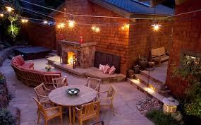 Cool Patio Lighting Ideas Backyard Ideas With Lights Photo Gallery Backyard
