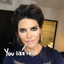 insruction on how to cut lisa rinna hair sytle rhobh s lisa rinna changes her hair for the first time in 20 years