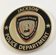 Challenge In Mo Jackson Mo Department Coin Challenge Coins