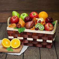 christmas fruit baskets simply fruit basket the fruit company
