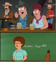 king of the hill peggy hill on american dad king of the hill know your meme