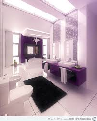 Bathroom Ideas Black And White Colors 15 Majestically Pleasing Purple And Lavender Bathroom Designs