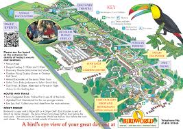 Surrey England Map by Map Of The Park Birdworld